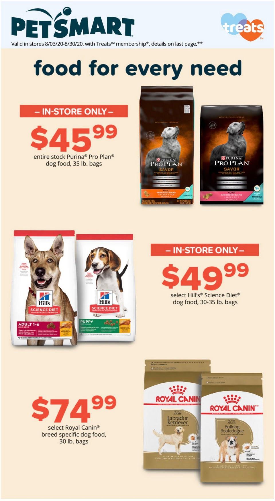 PetSmart weekly ad - page 1