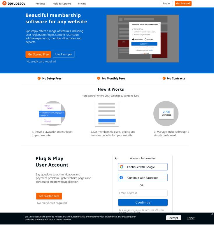 sprucejoy homepage