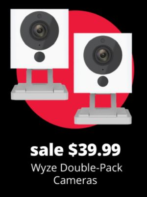 Wyze Double-Pack Cameras