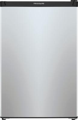 Frigidaire - 4.5 Cu. Ft. Mini Fridge with Top Freezer - Silver