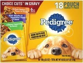 Pedigree Wet Dog Food Pouches