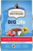 Rachel Ray Big Life Nutrish Beef or Chicken Dry Dog Food