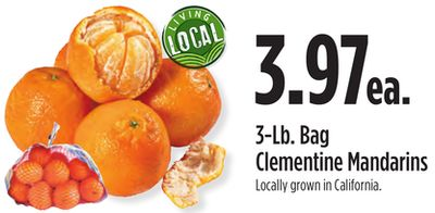 3-Lb. Bag Clementine Mandarins