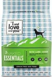 I and Love and You Dry Dog Food or Baked and Saucy Dry Dog Food