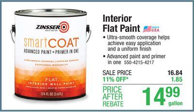 Interior Flat Paint image