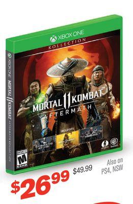Mortal Kombat 11: Aftermath Kollection XBOX ONE
