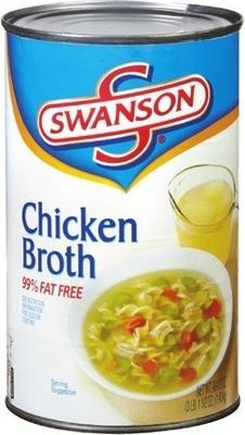 Swanson Chicken Broth or Campbell's Turkey Gravy