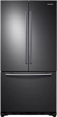 SAMSUNG 18 Cu. Ft. Black Stainless 3-Door French Door Refrigerator