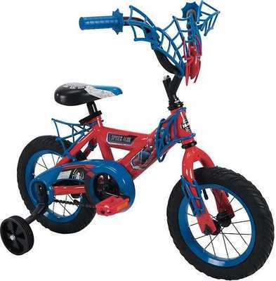 "Kids' Huffy 12"" Spider-Man or Minnie Bikes"