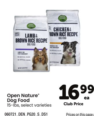 Open Nature® Dog Food