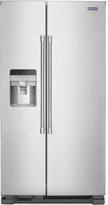 Maytag® 25 cu.ft. Fingerprint Resistant Stainless Steel Side-by-Side Refrigerator
