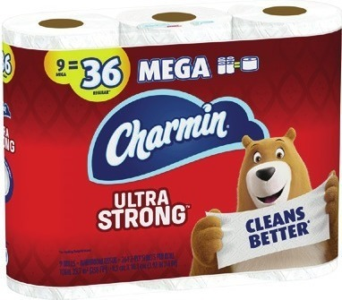 Charmin Bath Tissue 9 Mega Rolls Bounty Paper Towels 6 Super Rolls Downy Unstopables 14.8 oz Beads Fabric Softener 64 oz Wrinkle Guard or Infusion Bounce, Gain Fabric Softener 240 ct sheets Laundry Detergent 100 oz Flings 18 ct or 35 ct or DEFY Fabric
