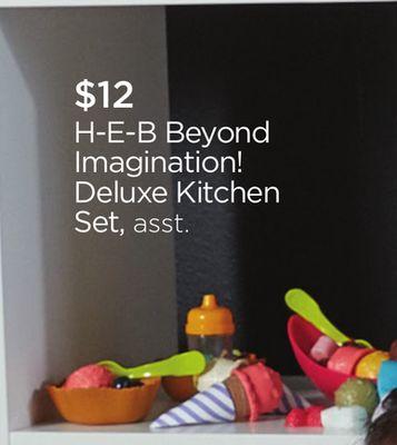 H-E-B Beyond Imagination! Deluxe Kitchen Set