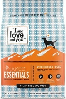 """""""I and love and you."""" Dog or Cat Food 3.4-lb. cat food or 4-lb. dog food., """"I and love and you."""" Variety Pack Dog or Cat Food 6-pack, 13-oz. Dog Food or 12-pack, 3-oz. Cat Food."""