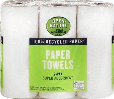 Open Nature® Paper Towels