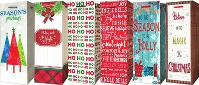Christmas Holiday Wraps, Bags or Bows 1 ct. or Home Décor 1 ct. or Christmas Holiday Lights or Trim a Tree 1 ct. or Boxed Cards 8-40 ct.