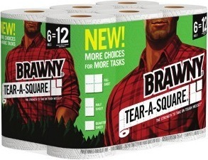 Dixie Plates 100-ct or 150-ct, Cups 66-ct, Angel Soft Bath Tissue 12-Mega Rolls or Brawny Tear-A-Square Paper Towels 6-Rolls
