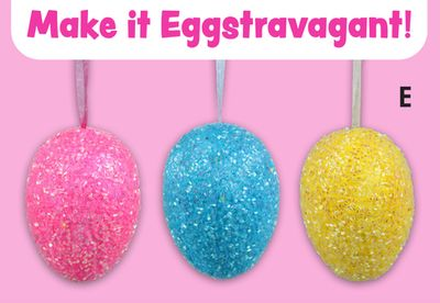 Large Foam Egg Ornaments