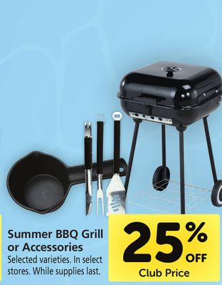 Summer BBQ Grill or Accessories