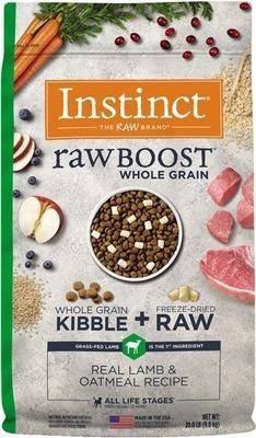 Instinct® Raw Boost® Whole Grain Lamb & Oatmeal Dog Food Bag