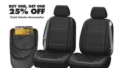 BUY ONE, GET ONE 25% OFF Truck Interior Accessories