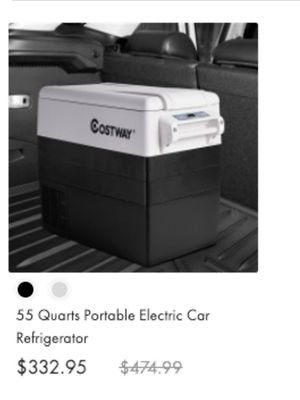 55 Quarts Portable Electric Car Refrigerator