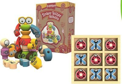 BeginAgain Wood Preschool Toys