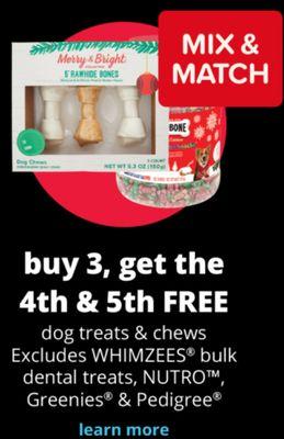 dog treats & chews