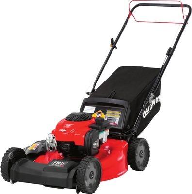 150cc 21-in Cut Self-Propelled Front-Wheel Drive Gas Lawn Mower
