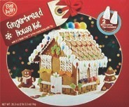 Gingerbread House Kits, Food GiftSets or Planters