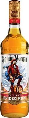 Captain Morgan Original Spiced Rum or Smirnoff Vodka