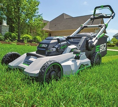 "21"" 56 Volt Power + Select Cut Self-Propelled Lawn Mower"