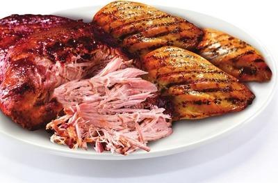 Boneless, Skinless Chicken Breasts or Pork Butt Roast