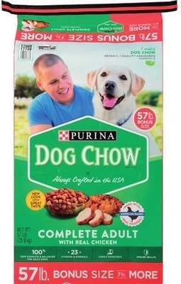 Any Dog Chow® Dry Dog Food, Beggin' Strips® and Hip & Joint Chewables