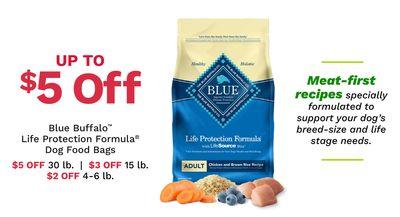 Blue Buffalo™ Life Protection Formula Dog Food Bags