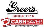 Greer's Cashsaver logo